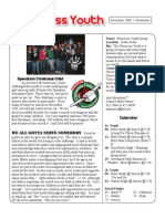 New Newsletter November 2009