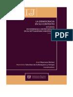 2009 La Democracia en Su Contexto, Estudios en Homenaje a Dieter Nohlen