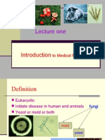 Introduction to Medical Mycology