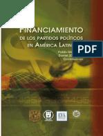 2011 Financiamiento de Partidos Politicos en America Latina