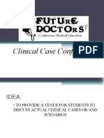 FUTURE DOCTORS - Clinical Case Conference