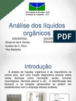 Análise Dos Líquidos Orgânicos Final