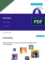 3 - Workshoppresentatie