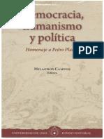 2012 Democracia, Humanismo y Politica. Homenaje a Pedro Planas