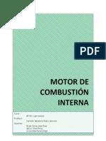 "Informe Motor de Combustiã""n Interna"