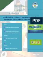 Trabajo de Factores Externos e Internos de Marcimex