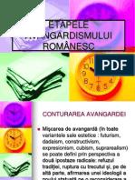 ETAPELE AVANGARDISMULUI ROMÂNESC