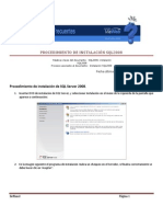 ERP-Procedimiento de Instalacion de SQL2008