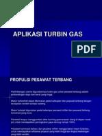 TURBIN GAS - Aplikasi Turbin Gas