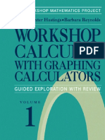 (Textbooks in Mathematical Sciences) Nancy Baxter Hastings, Barbara E. Reynolds, C. Fratto, P. Laws, K. Callahan, M. Bottorff-Workshop Calculus With Graphing Calculators_ Guided Exploration With r