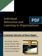 Org Behaviour-Individual Behaviour