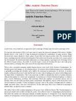 Einar Hille_ _Analytic Function Theory