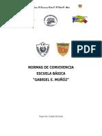 Normas de Convivencia E-b- Gabriel e. Muñoz1