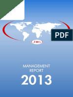 2013 Management Report
