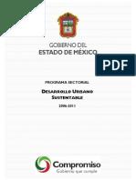 Programa Sectorial Desarrollo Urbano Sustentable