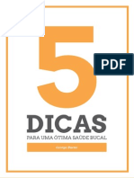 E-book - 5 Dicas Para Uma Ótima Saúde Bucal