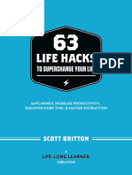 Scott Britton - 63 Life Hacks