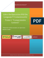 Libro de Ejercicios PSU de Ciencias Tomo I - Fisica, Quimica Y Biologia Modulo Comun