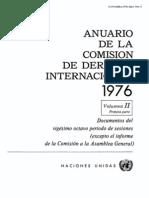 Anuario de Naciones Unidas (Temas de Derecho Internacional, Tratados, Cursos de Aguas Internacionales, Etc)