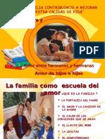 La Familia Como Escuela Del Amor