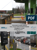 Toll collection feasibility study