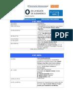 Marzo 2014 Programa Preliminar Litio en Sudamérica