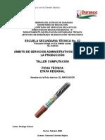 Análisis de Objeto Técnico El Marcador