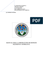 Manual de Hongos Pleurotus 1