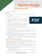 25 Hoja Requisitos y Recaudos Pn Hipotecario VP Publicada 04 2013