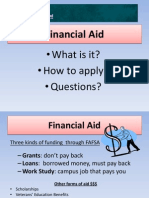 financial aid spr14