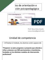 Presentacion Modelos de Orientación e Intervención Psicopedagógica