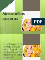 Mascarillas Caseras