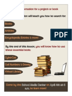 Information Literacy Handout