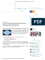 Como Crear Red de Área Local Entre Windows XP y Windows 8 _ the PC Noobs