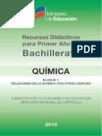 Quimica Guia Docente B1 090913