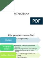 Tatalaksana Dm Tipe 2