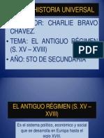 4.- El Antiguo Régimen (s. Xv - Xviii)