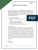 Programa Aplicado en El Colegio Julio Gutierrez Solari Final