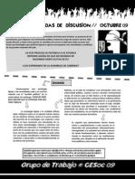 Sintesis Jornada de Discusion CESoc