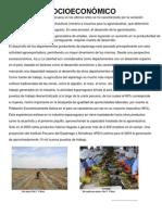 Aspecto Socioeconómico y Ambiental