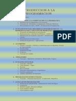 Introduccion a La Programacion I-2013