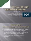Estado Actual de Los Sistemas CAD