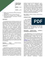 Revision Venezolana de Cefalosporinas
