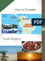 The Tourism in Ecuador