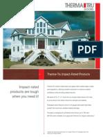 Therma Tru Impact Lite Brochure