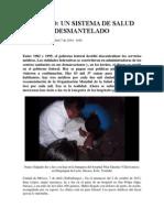 Flores, L. - México, Un Sistema de Salud Desmantelado