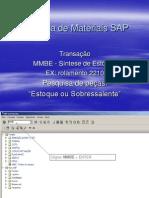 Pesquisa de Materiais SAP