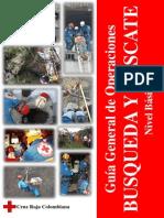 Guia General de Operaciones Busqueda y Rescate Nivel Basico Segunda Version
