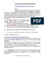 Tema 3 - Elementos de Probabilidad