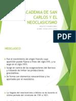 Academia de San Carlos y El Neoclasicismo (1)
